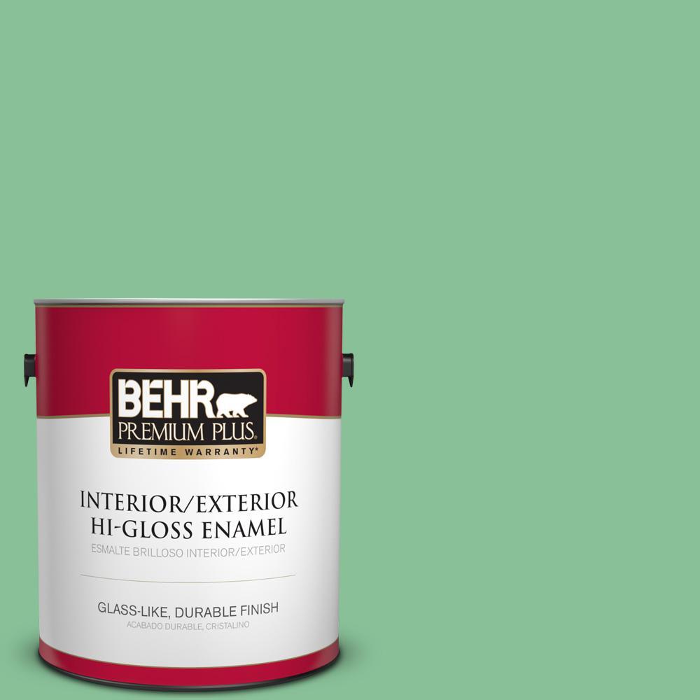 1 gal. #MQ6-40 Country Weekend Hi-Gloss Enamel Interior/Exterior Paint