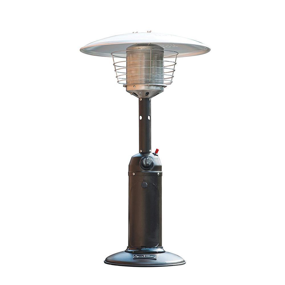 Legacy Heating 11 000 Btu Mocha Table Top Gas Patio Heater