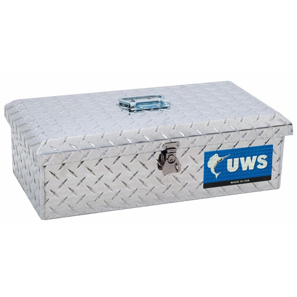 Small Truck Tool Box >> UWS 21 in. Aluminum Small Tool Box-TB-1 - The Home Depot