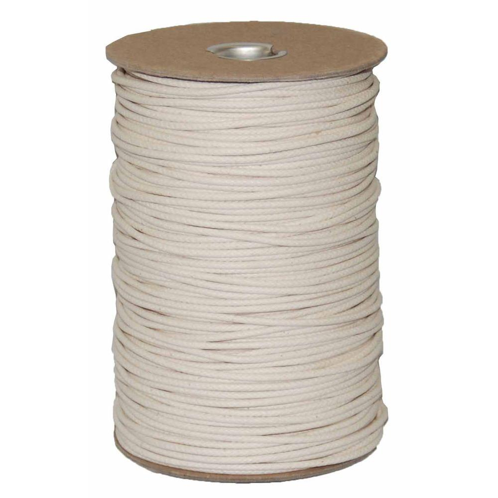 T.W. Evans Cordage #4 1/8 in. x 600 ft. Duck Cotton Shade Cord Spool