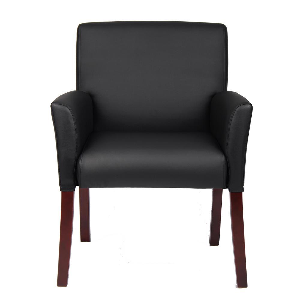 Black Box Arm Guest Chair