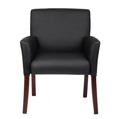 Black Box Arm Guest Chair