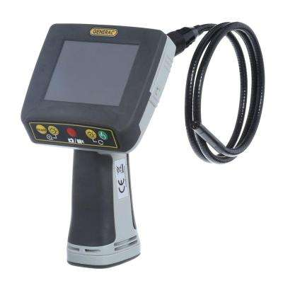 Waterproof Recording Video Inspection System with 8 mm Dia Far-Focus Probe, 4GB MicroSD Card Included