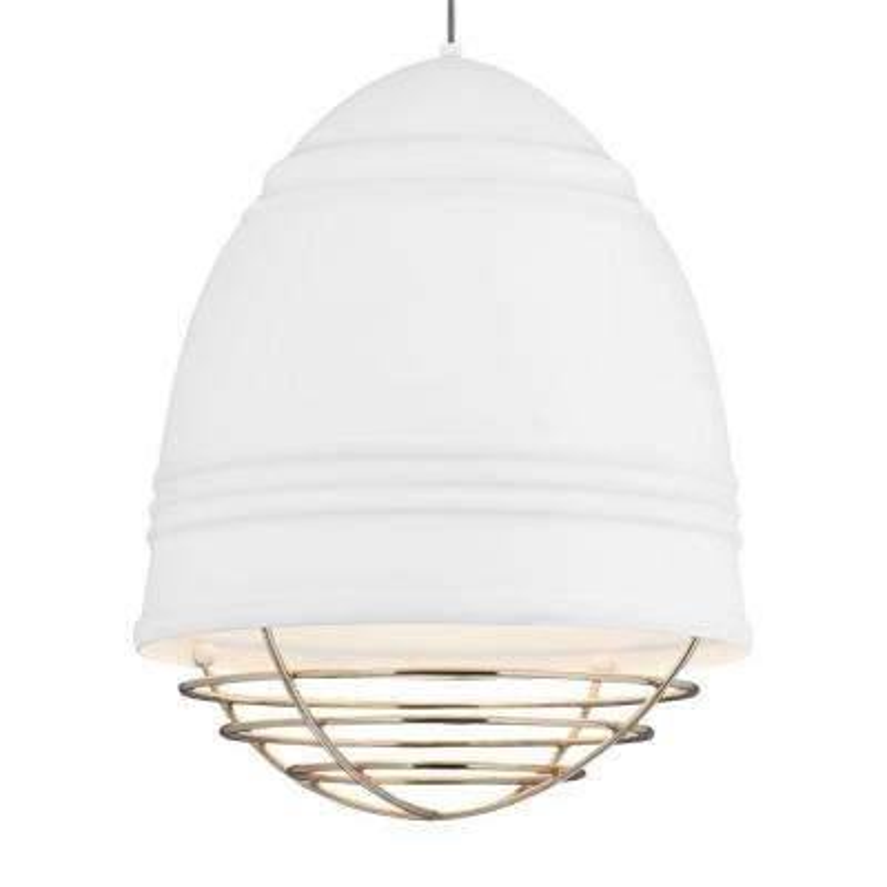 Loft Grande White LED Line-Voltage Pendant