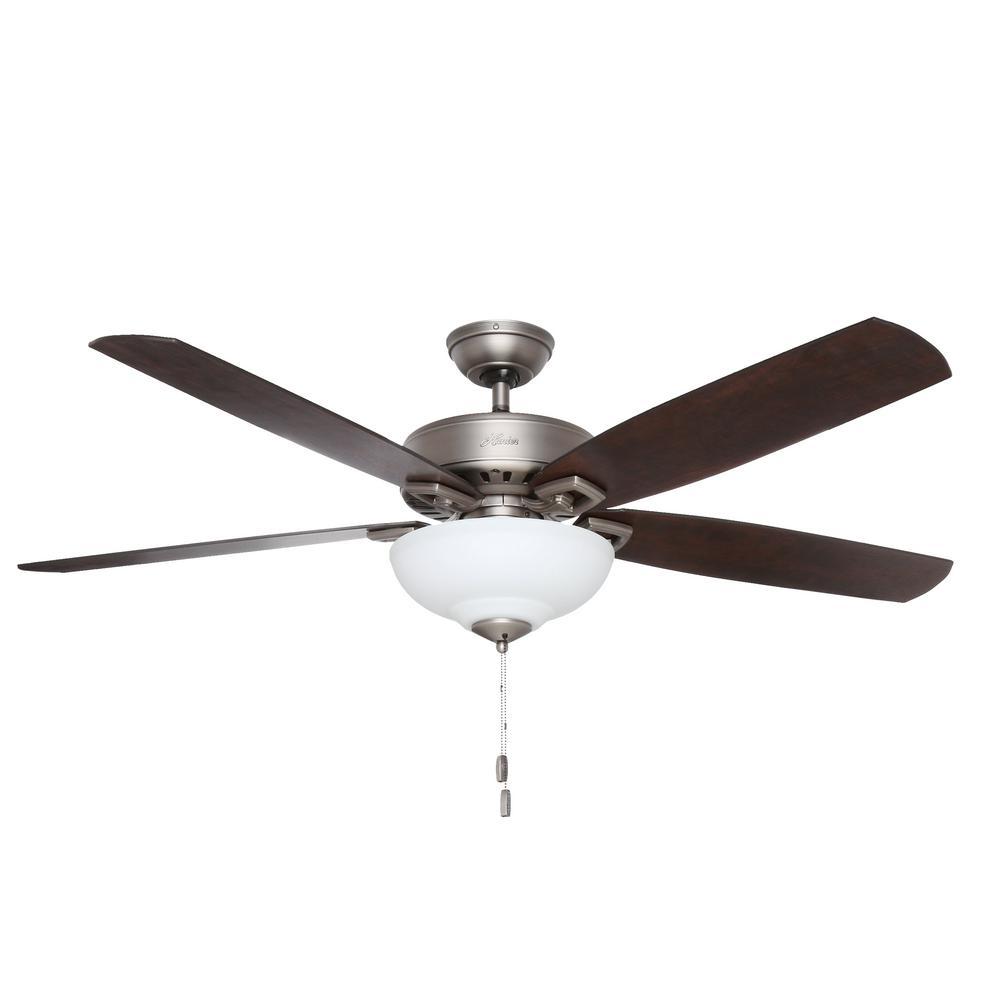 Hunter Groveland 60 In Indoor Antique Pewter Ceiling Fan
