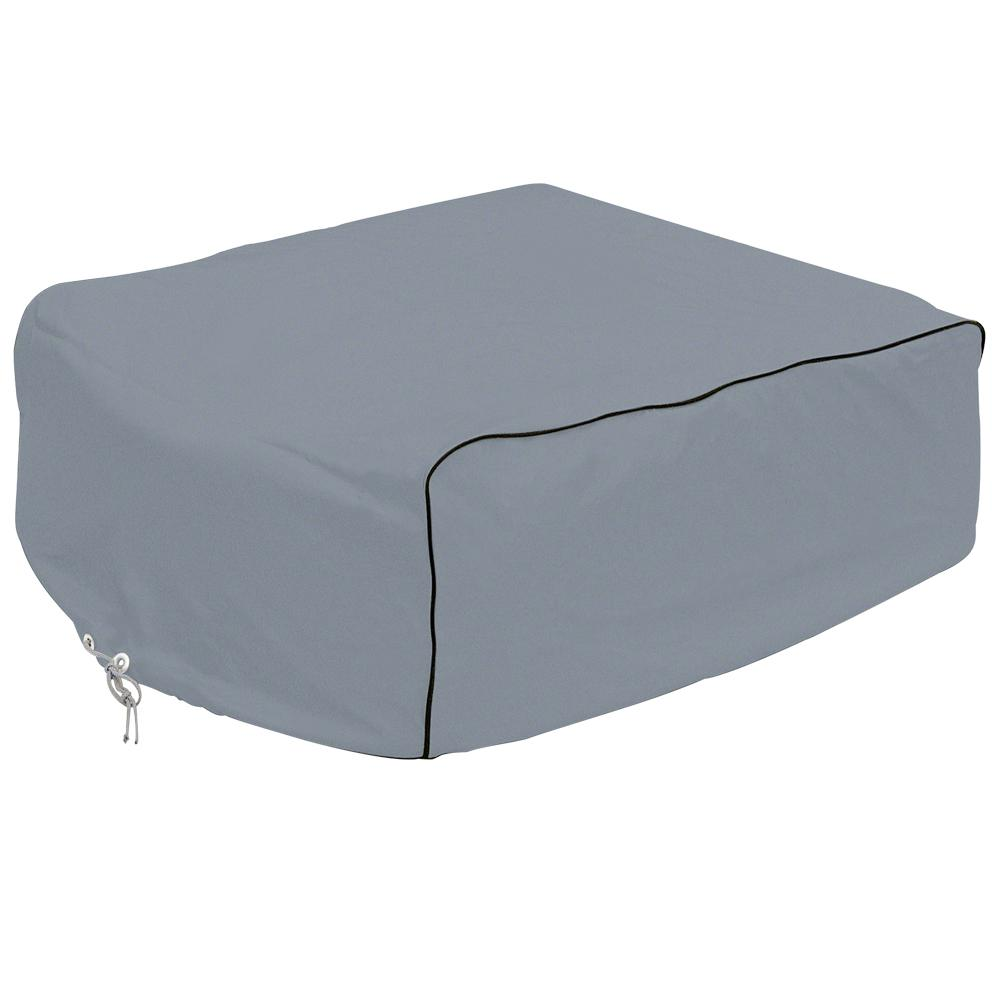 Overdrive 32 in. L x 30 in. W x 12.5 in. H RV Air Conditioner Cover Grey Duotherm Overdrive 32 in. L x 30 in. W x 12.5 in. H RV Air Conditioner Cover Grey Duotherm