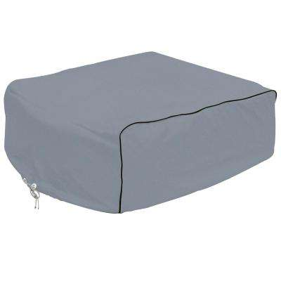 Overdrive 41 in. L x 27.25 in. W x 12.75 in. H RV Air Conditioner Cover Grey Coleman