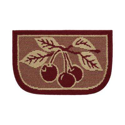 Cherry Bonanza 18 in. x 30 in. Kitchen Rug