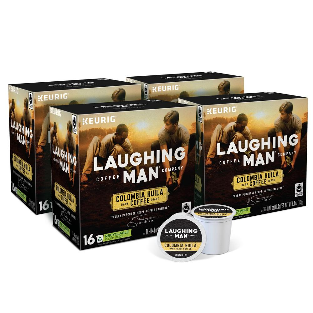 Keurig Laughing Man Colombia Huila K-Cups (64-Counts)