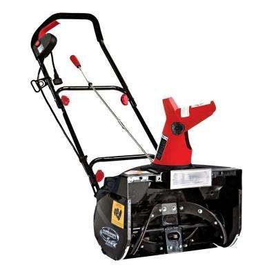 MAX 18 in. 13.5-Amp Electric Snow Blower with Light