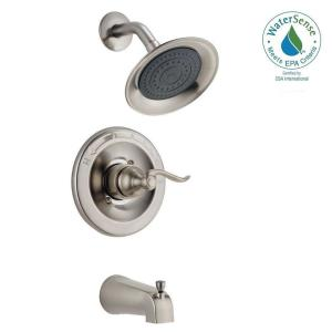 Windemere Single Handle 1 Spray Tub And Shower Faucet In Brushed Nickel