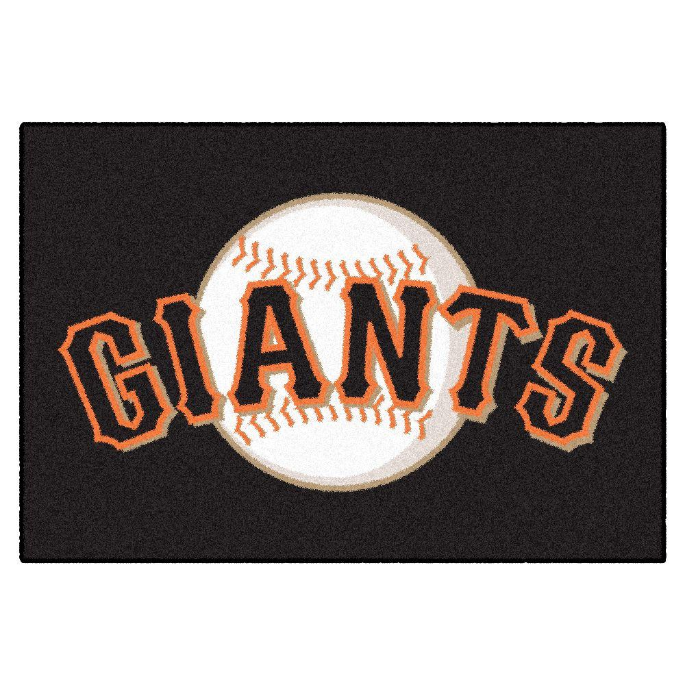 San Francisco Giants 19 in. x 30 in. Accent Rug