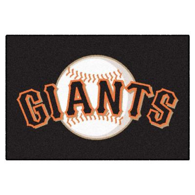 MLB San Francisco Giants 1 ft. 7 in. x 2 ft. 6in. Starter Mat Area Rug