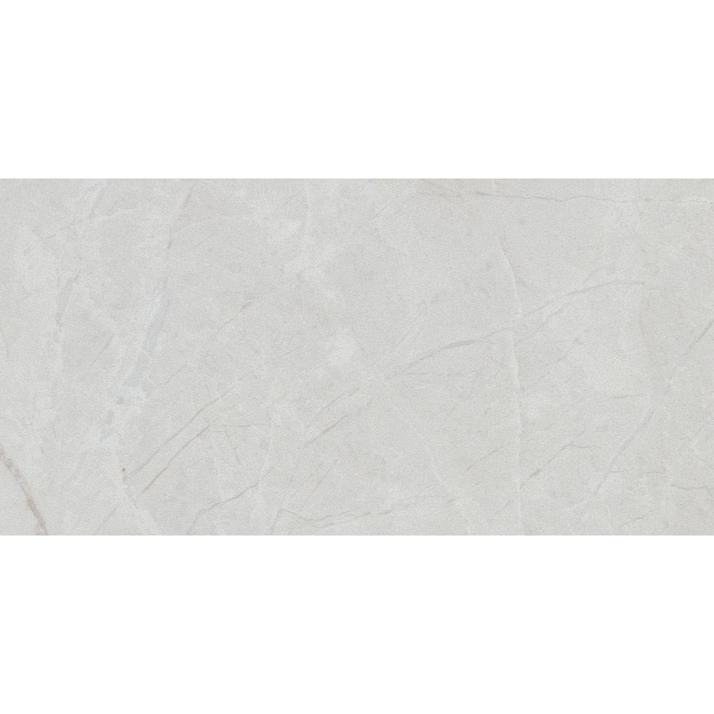 Delray White 4 in. x 8 in. Ceramic Wall Tile