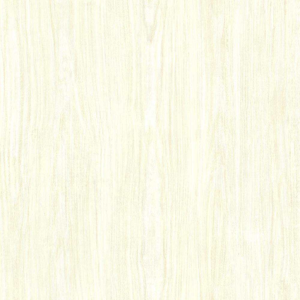 Brewster Cream White Washed Boards Shiplap Wallpaper 2701