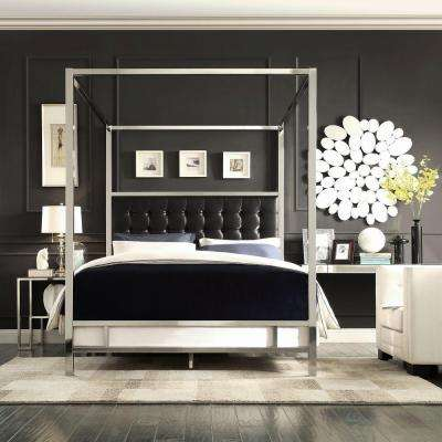 Queen Beds Headboards Bedroom Furniture The Home Depot