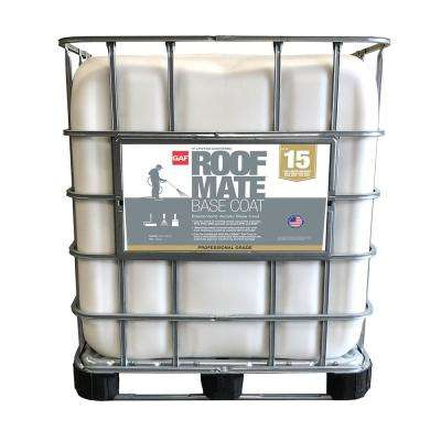 Roof Mate 250 Gal. Base Coat Acrylic Roof Coating Primer Light Gray (15-Year Limited Warranty)