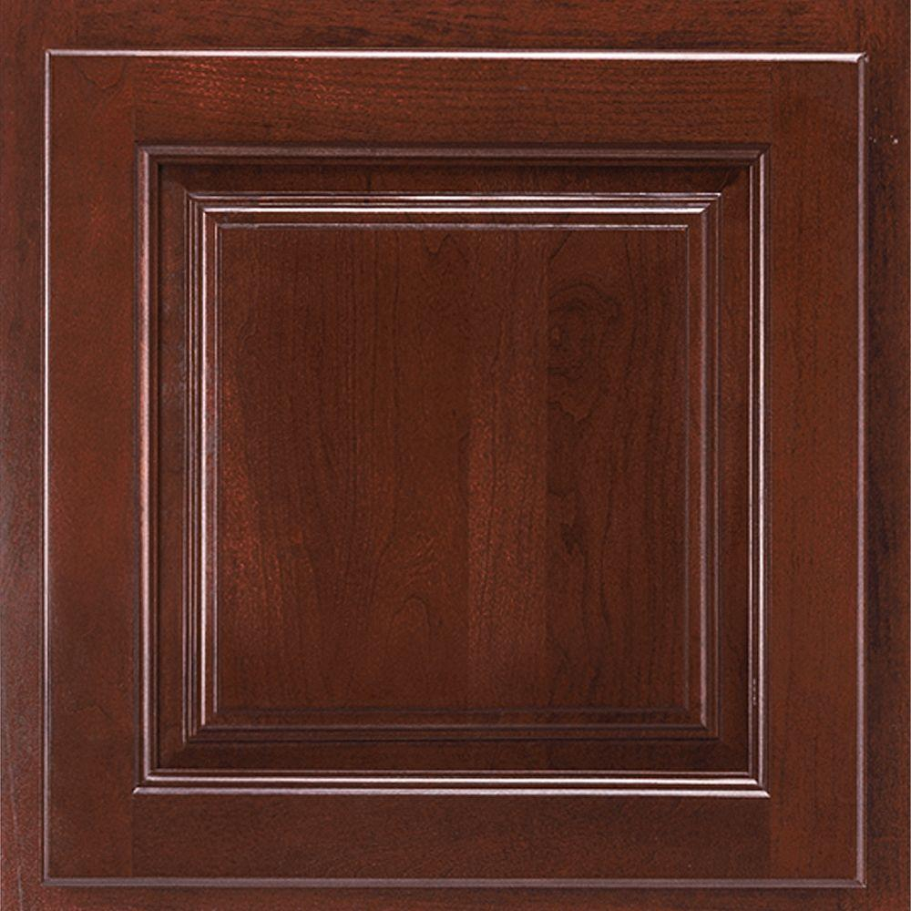 American woodmark 13x12 7 8 in cabinet door sample in for Samples of kitchen cabinets