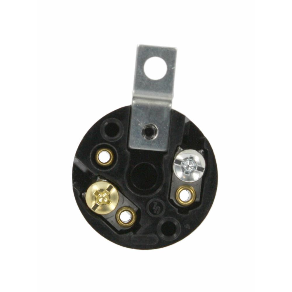 660W Medium Base One-Piece Single Circuit Keyless Bracket Mount Phenolic