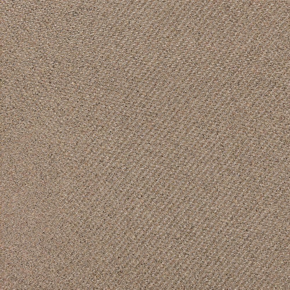 Daltile Identity Imperial Gold Fabric 18 in. x 18 in. Polished Porcelain Floor and Wall Tile (13.07 sq. ft. / case)-DISCONTINUED