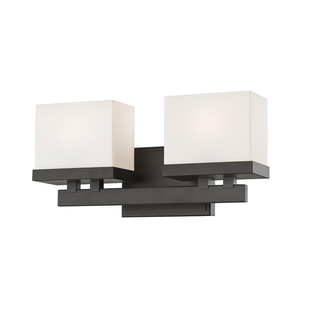 Auge Bronze 8-Watt Integrated LED Bath Light
