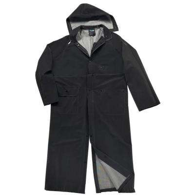 35 mm Large PVC Polyester 60 in. Rider Fire Retardant Coat