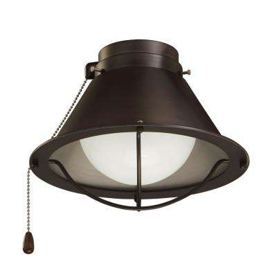 Seaside Array Oil Rubbed Bronze Ceiling Fan Light Kit