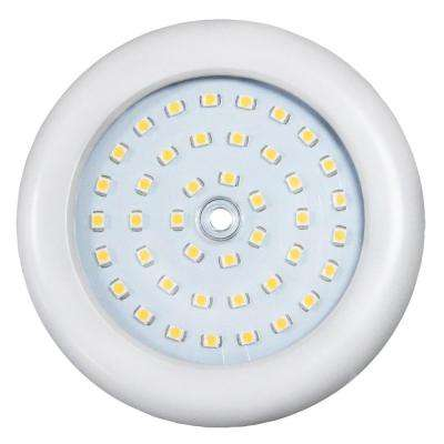 ADL Lumin 3-1/2 in. White Indoor LED Slim Puck Light