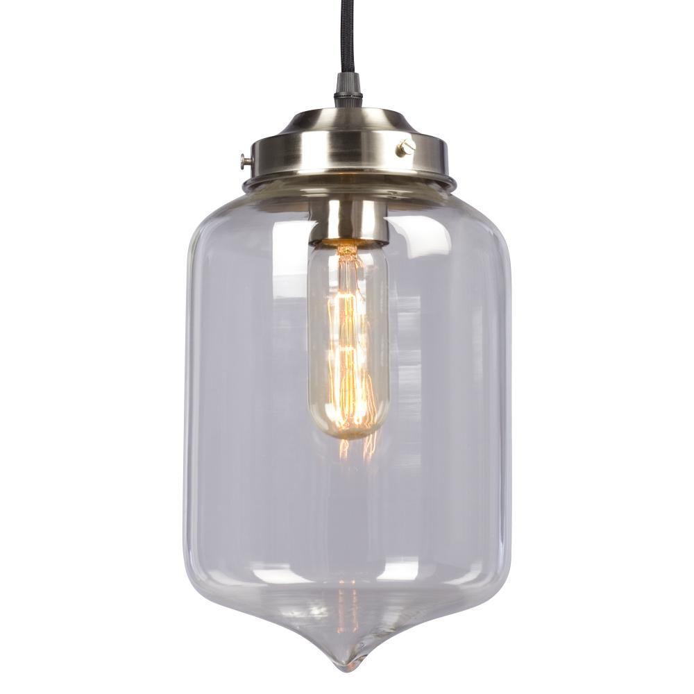 Egan 1-Light Brushed Nickel Pendant