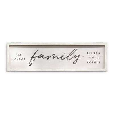 Family is Life's Greatest Blessings Wall Art