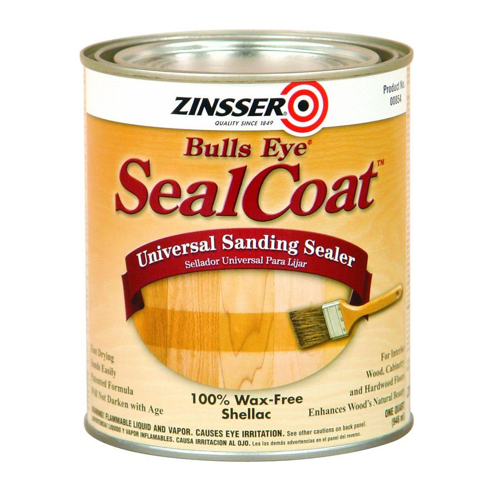 Zinsser 1 Qt Sealcoat Universal Sanding Sealer Case Of 6