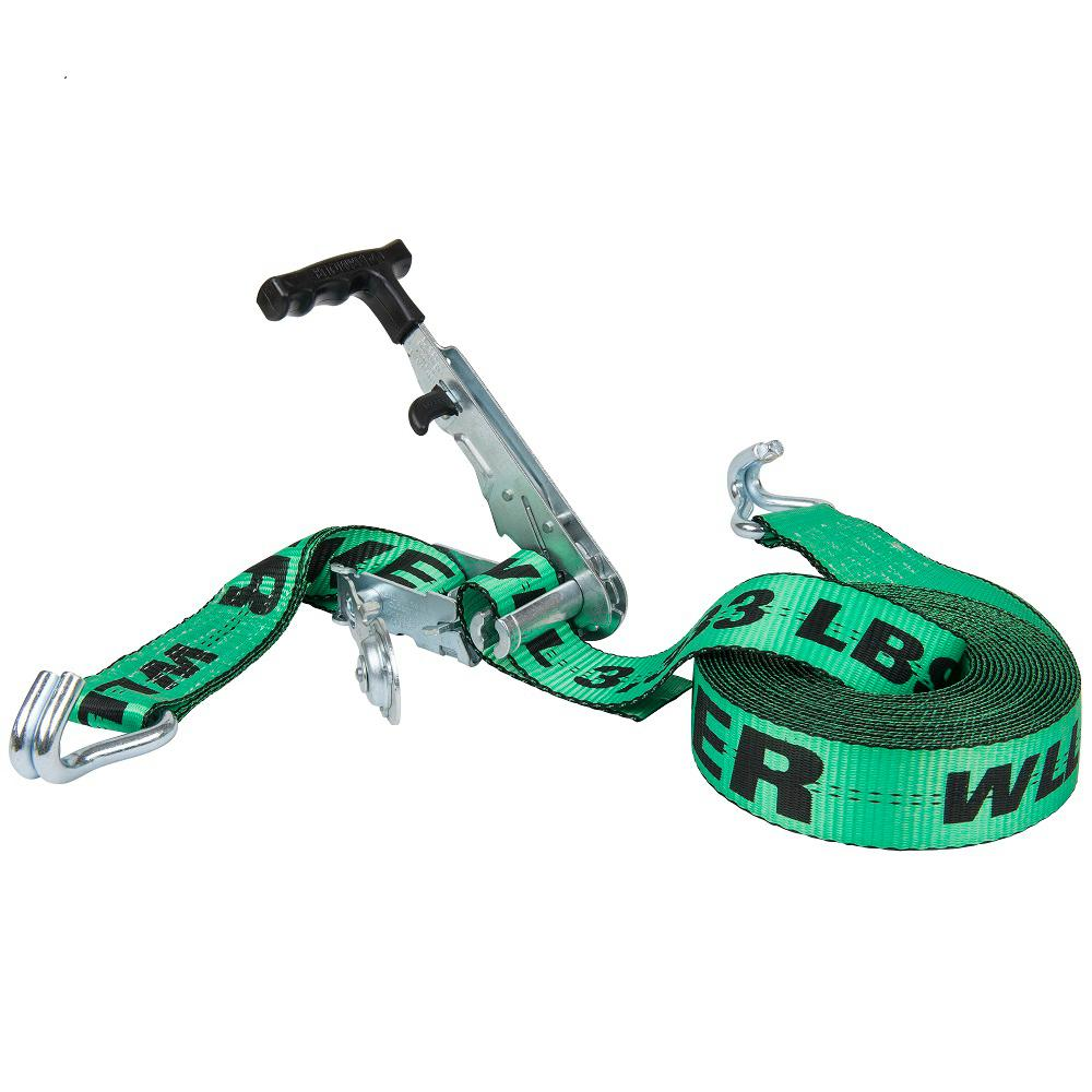Keeper Keeper 27 ft. x 2 in. Side Loading Ratchet, Green