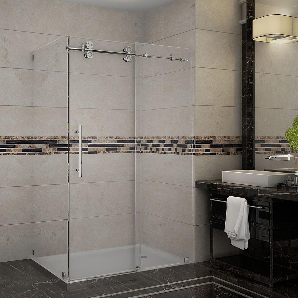 48 - Corner Shower Doors - Shower Doors - The Home Depot