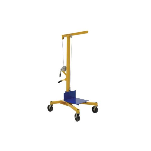 49 in. x 37 in. x 91 in. Portable Hand Winch Lifter