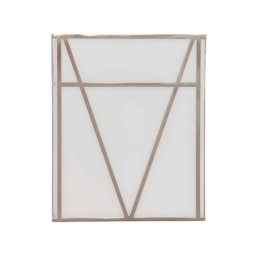 Menna White Indoor Acrylic Sconce