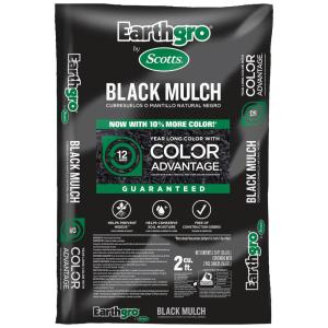 2 cu. ft. Black Mulch