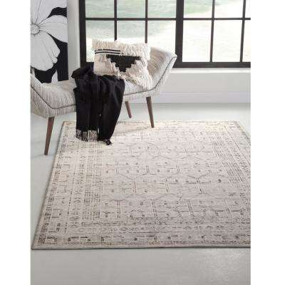Sonoma Cheyenne Grey/Charcoal/Ivory 8 ft. x 11 ft. Area Rug