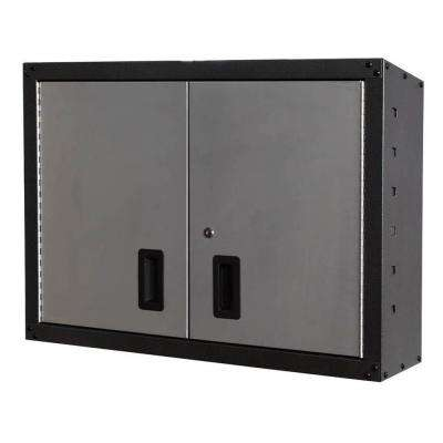 GOSII 32 in. and 2-Doors Wall Cabinet, Gray