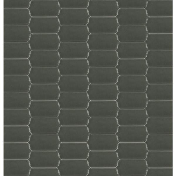 Victorian Gris 4 in. x 8 in. Picket Glazed Ceramic Wall Tile (10.75 sq. ft./Case)