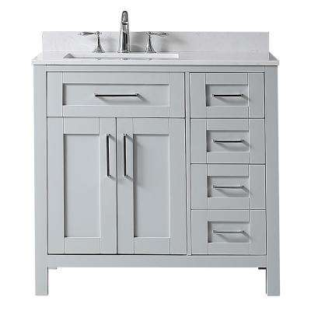 sink on left side bathroom vanities bath the home depot rh homedepot com