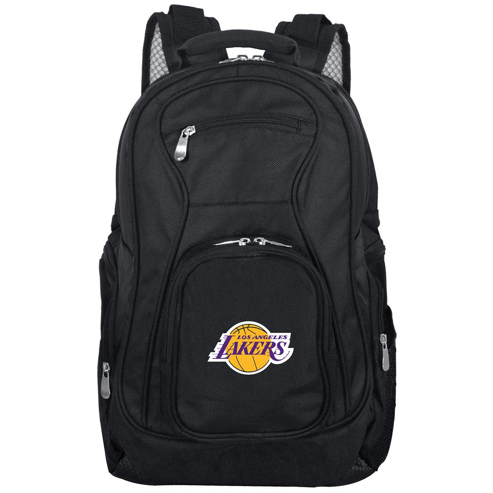 NBA Los Angeles Lakers Black Backpack Laptop