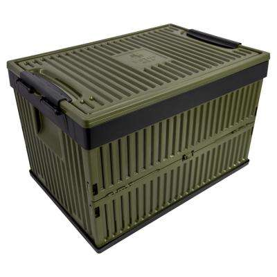 Foldable 60 Qt. Cooler and Crate in Green