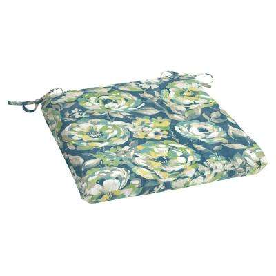 Charleston Floral Rectangle Outdoor Seat Cushion