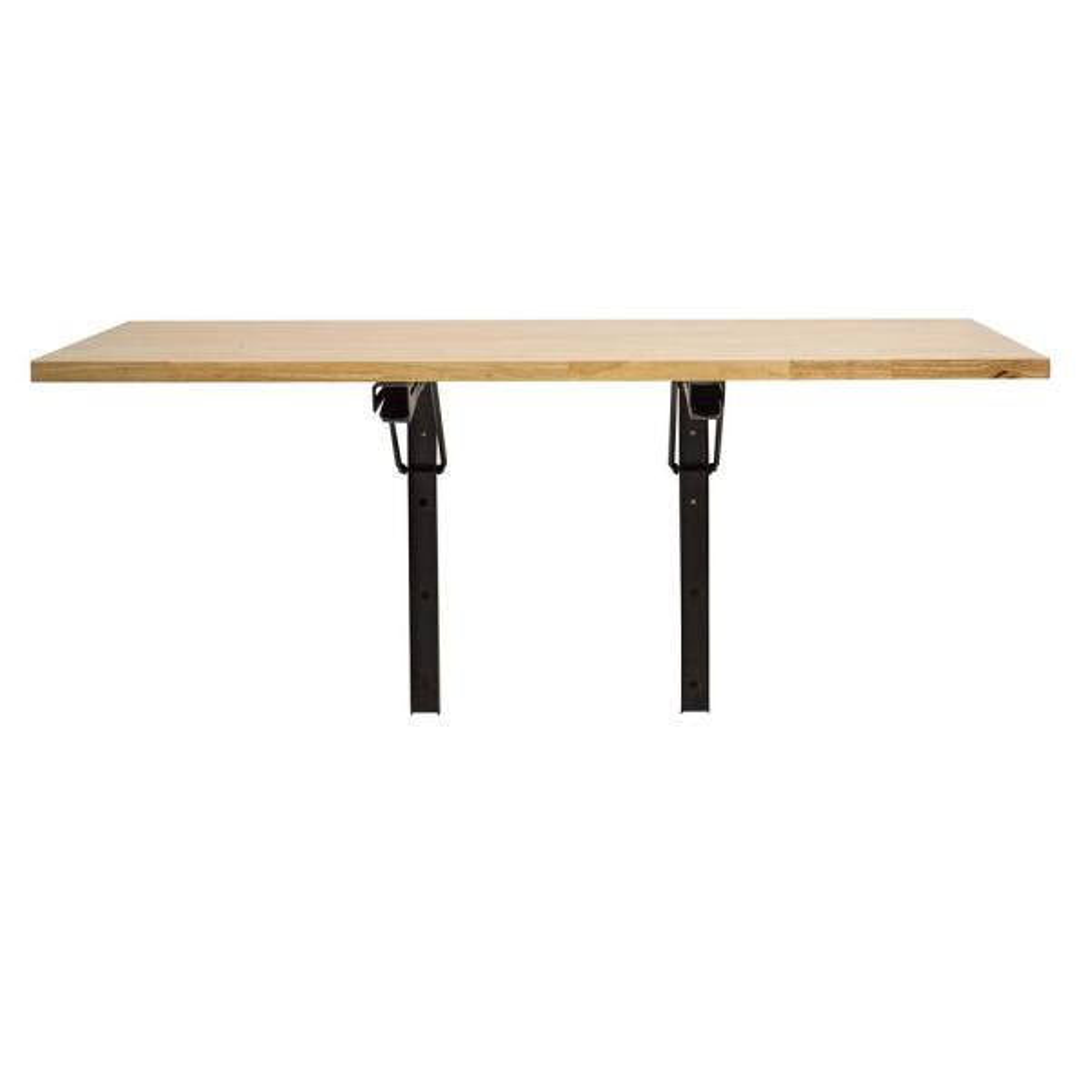 Wood Wall Mounted Folding Kitchen Utility Table