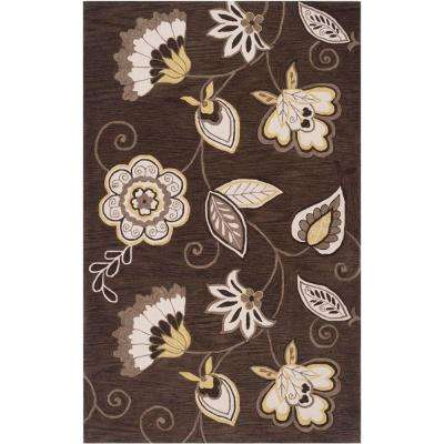 Angelo:HOME Olive Oil 5 ft. x 8 ft. Contemporary Area Rug