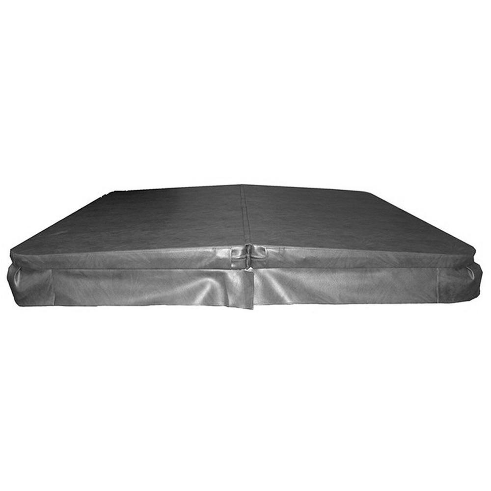 68 in. W x 78 in. L Hard Cover 4 in. - 2 in. Taper 1 lb. Foam for USA Spas Model 34 Key West