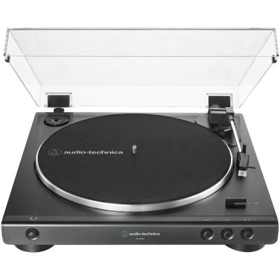 Fully Automatic Belt-Drive Turntable in Black