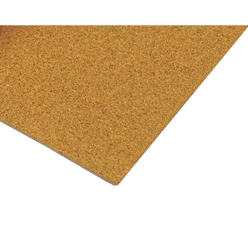 QEP 150 sq. ft. 2 ft. x 3 ft. x 1/2 in. Cork Underlayment Sheets (25-Pack)