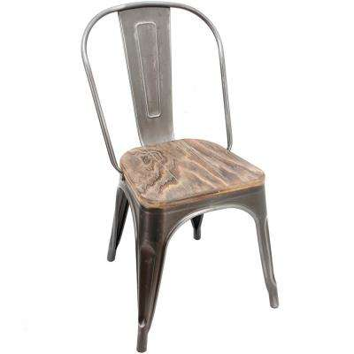 35 in. Granville Industrial Chair (Set of 2)