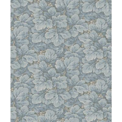 Waldemar Light Blue Foliage Wallpaper Sample